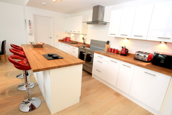 Woolacombe Holiday Cottages The Breakers Kitchen Iisland
