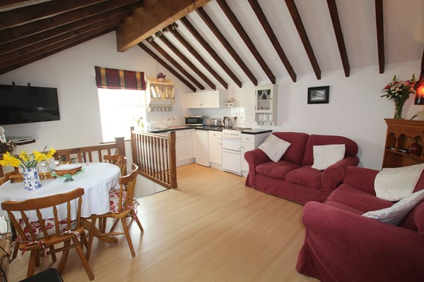 SSeashore Croyde Holiday Cottages Open Plan Living