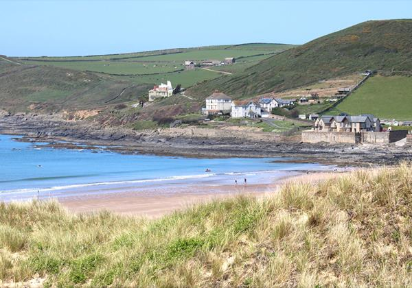 Croyde Holiday Cottages Seascape Dunes