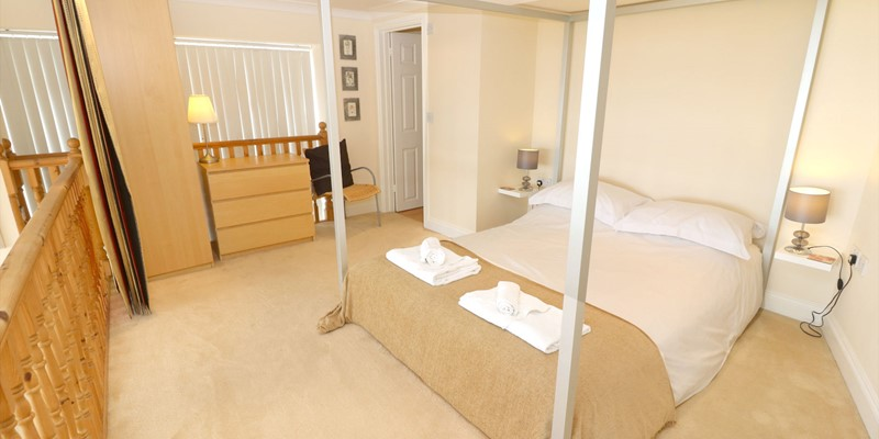 Woolacombe Holiday Cottages Surf View Bedroom Upstairs