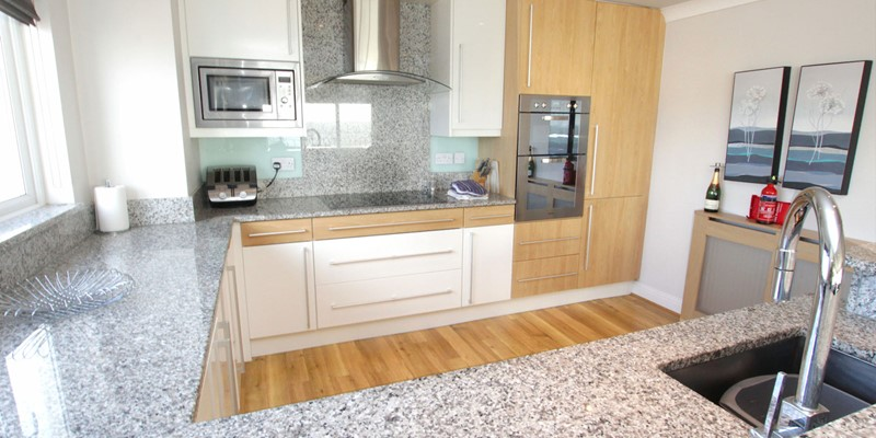 Woolacombe Holiday Cottages Devon Beach Penthouse Kitchen Layout