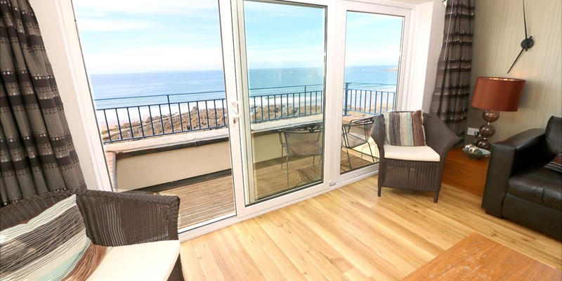 Woolacombe Holiday Cottages Devon Beach Penthouse Lounge View