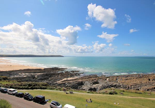 Woolacombe Holiday Cottages Devon Beach Penthouse View From Balcony