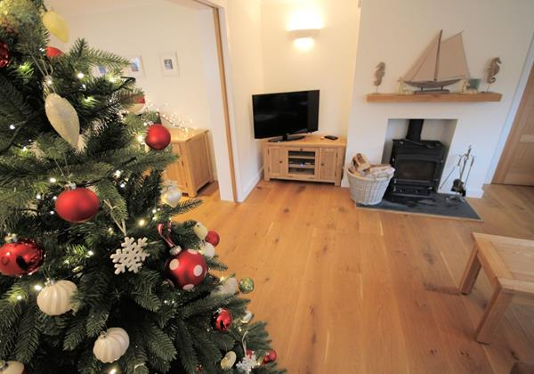 White Sands Croyde Holiday Cottages Cosy Christmas With Wood Burning Stove