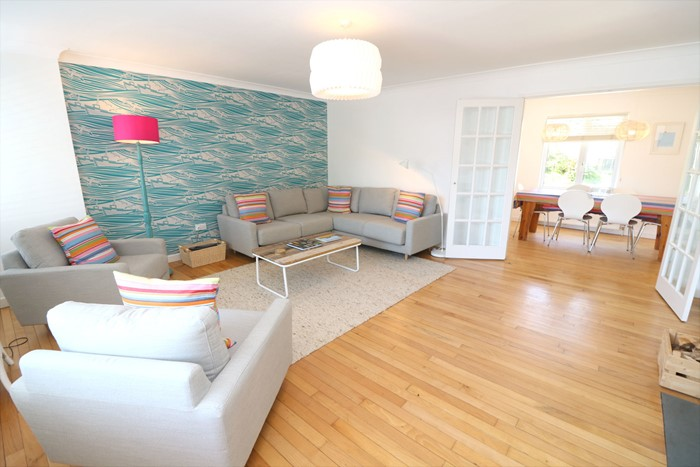 Croyde Holiday Cottages Eden Lounge To Dining