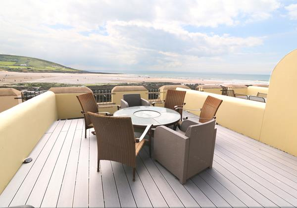 Croyde Holiday Cottages 6 Out The Blue Terrace