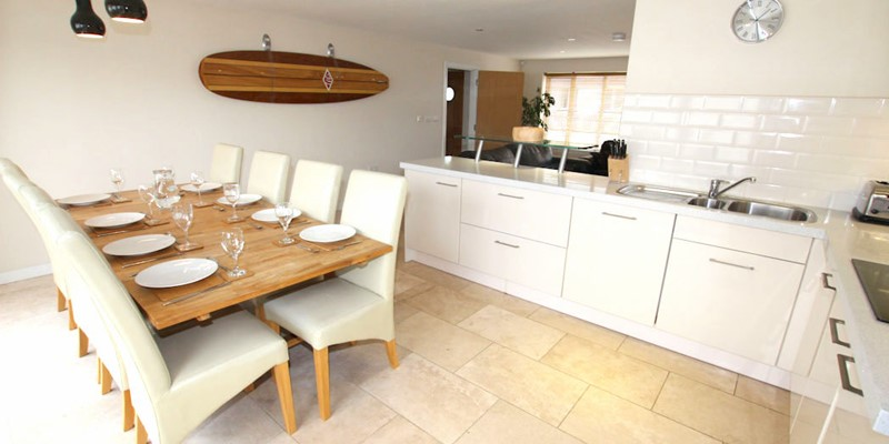 Ocean Cottages Longboards Dining Table