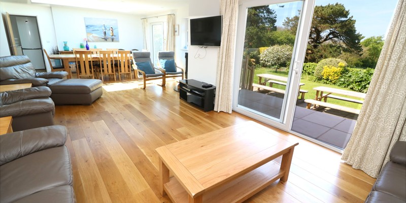 Croyde Holiday Cottages Pebbles Rest Open Plan Living