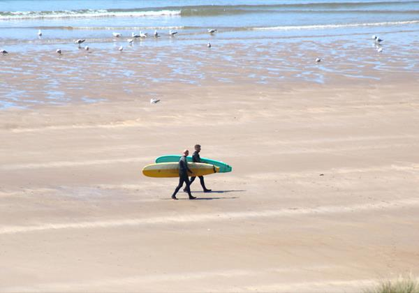 Croyde Holiday Cottages Pebbles Rest Surfers