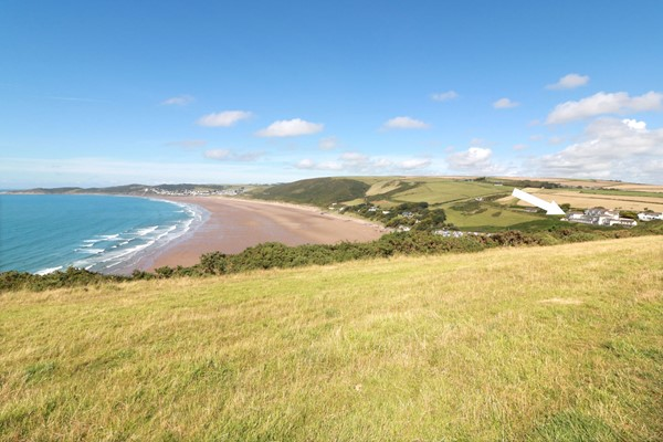 Putsborough Holiday Cottages Clifton Court Location And Beach