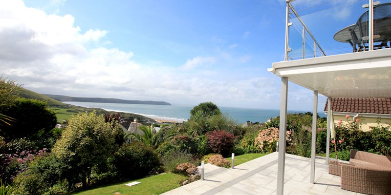 Atlantic House Woolacombe Holiday Cottages Balcony