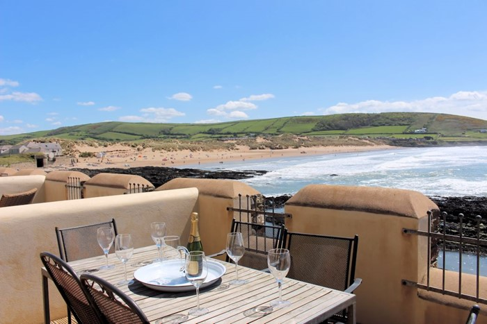 Surfside Croyde Holiday Cottages Terrace View1