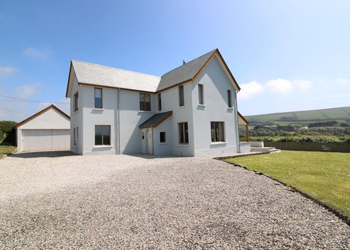 Croyde Holiday Cottages Broad De Driveway