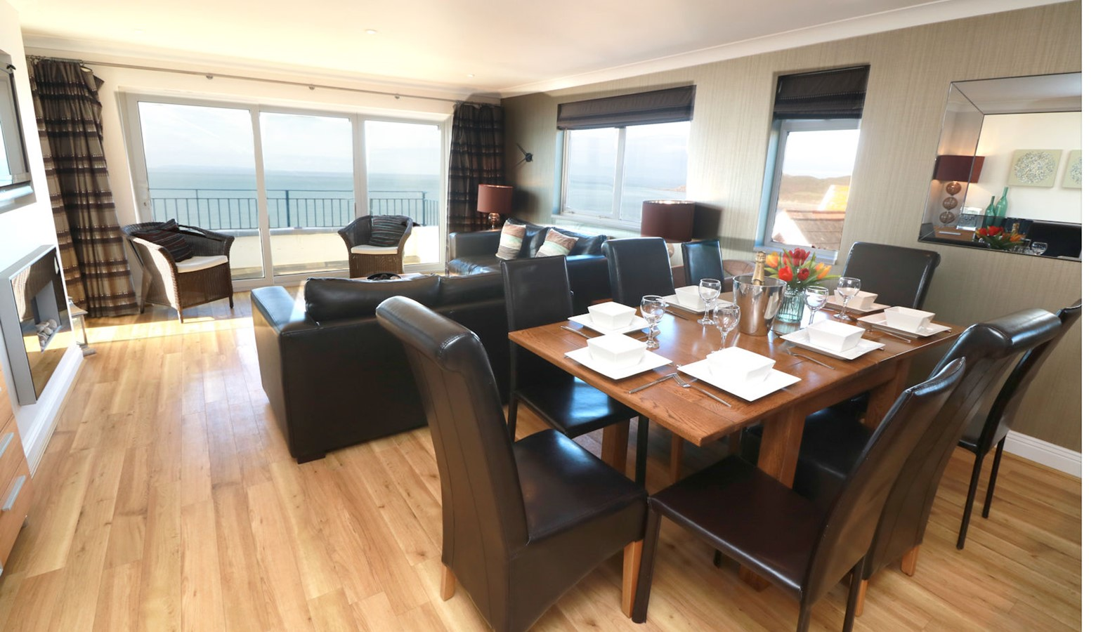 Devon Beach Penthouse   Woolacombe Holiday Cottages   Sea ...