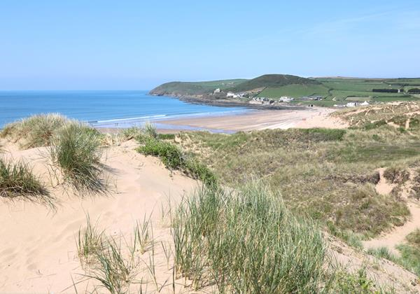 Croyde Holiday Cottages Chuggs Cottage Beach