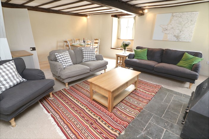 Croyde Holiday Cottages Chuggs Cottage Lounge To Diner