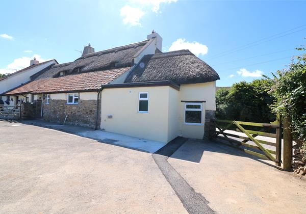 Croyde Holiday Cottages Chuggs Cottage Yard Space