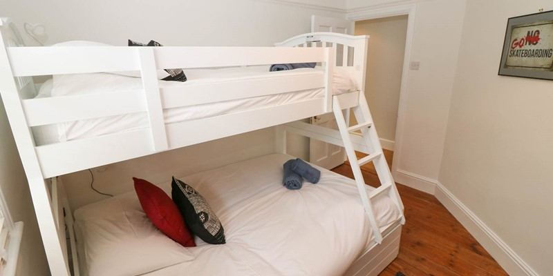 Hartland View Croyde Holiday Cottage Bunk Bedroom