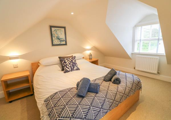 Hartland View Croyde Holiday Cottage Upstairs Master Room