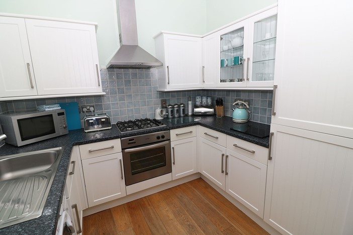 Hartland View Woolacombe Holiday Cottage Equipped Kitchen