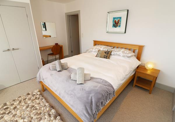 Woolacombe Holiday Cottages Long Beach House Double Bedroom