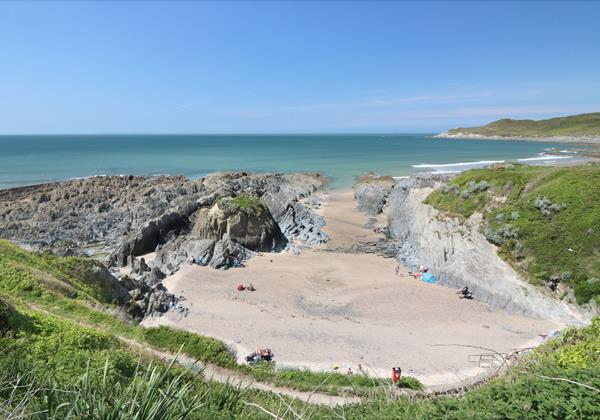 Woolacombe Holiday Cottages Long Beach House Cove