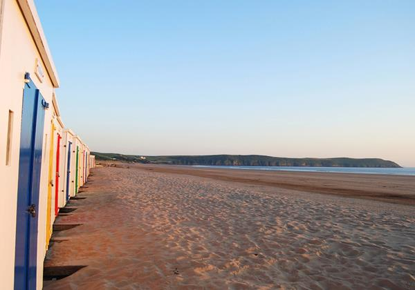 Long Beach House Woolacombe Holiday Cottages Beach Huts