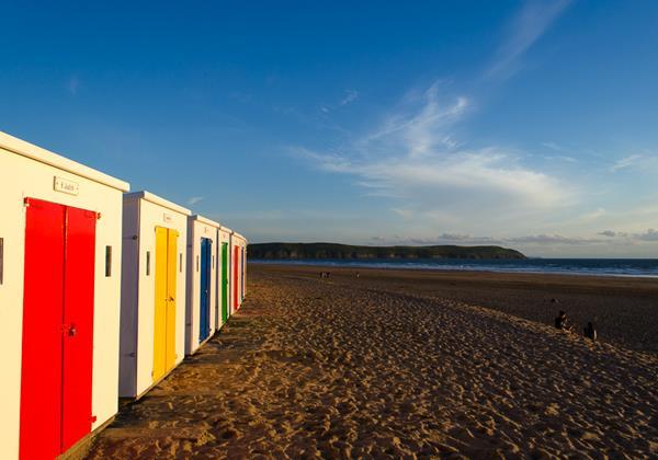 Woolacombe Beach Holidays Beach Huts