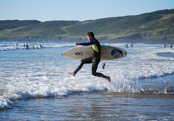 Woolacombe Beach Holidays Surf