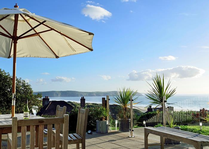 Woolacombe Beach Holidays Ocean Breeze View