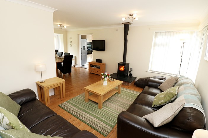 Nuthurst Croyde Holiday Cottages Living Room