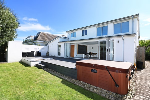 Croyde Holiday Cottages Rear Elevation
