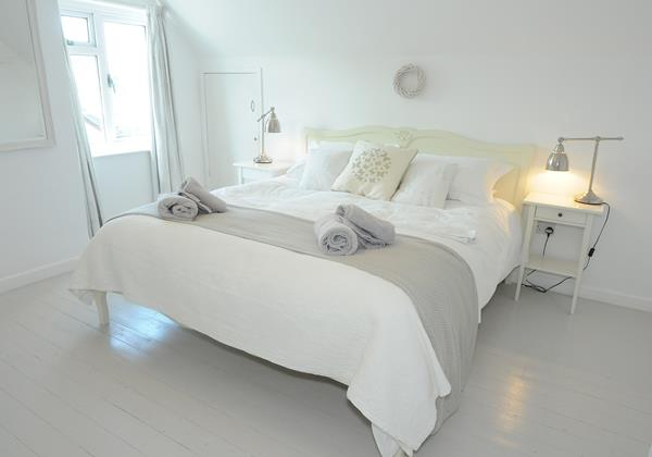 Croyde Holiday Cottages Bay Cottage Beautifully Decorated Bedroom