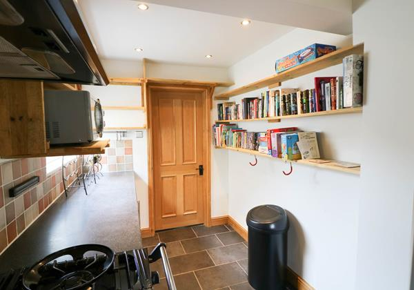 Hideaway Croyde Holiday Cottage Kitchen Area