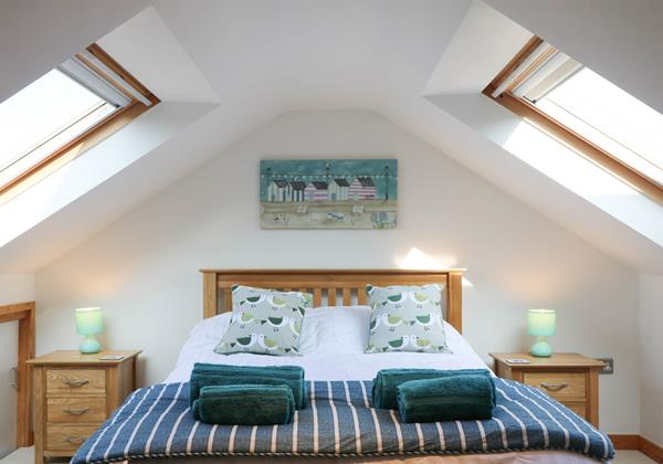 Hideaway Croyde Holiday Cottage First Floor Double