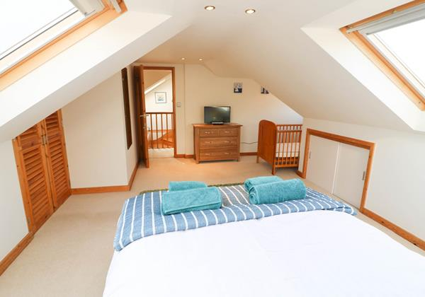 Hideaway Croyde Holiday Cottage Double Room First Floor