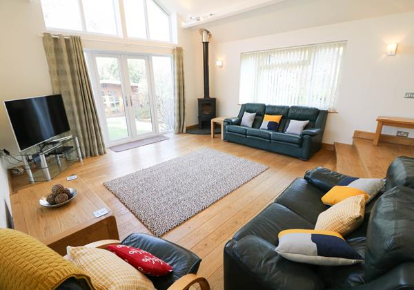 Hideaway Croyde Holiday Cottage Lounge