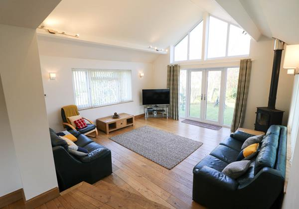 Hideaway Croyde Holiday Cottage Living Area