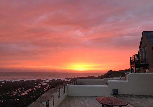 Sunset At Surfside