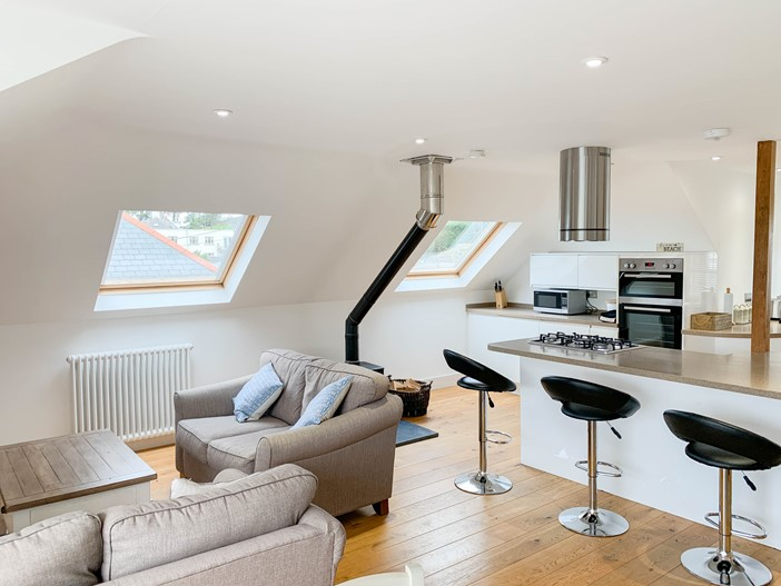 Marine View Woolacombe Open Plan Living