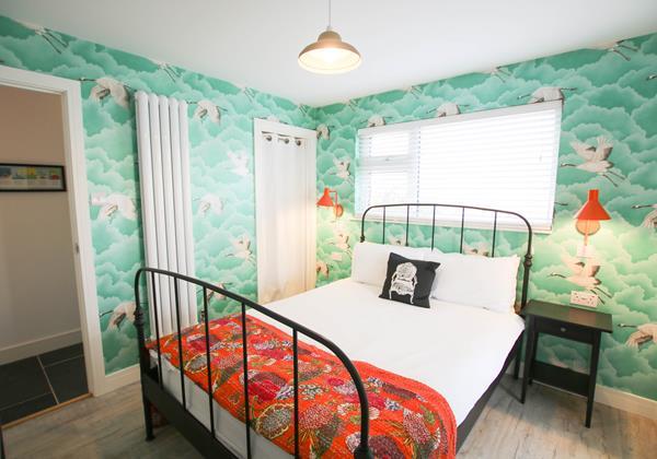 Croyde Holiday Cottage Driftwood En Suite Bedroom