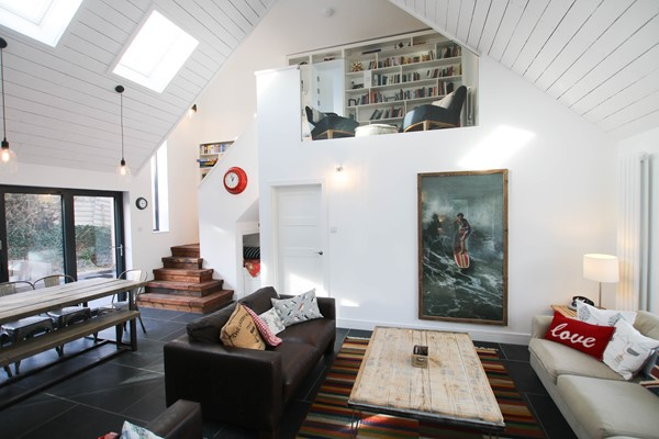 Croyde Holiday Cottage Driftwood Open Plan Living