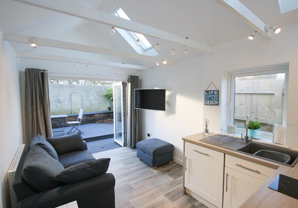 Salty Kisses Croyde Holiday Cottage Open Plan Living