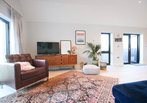 Tresona Croyde Holiday Cottage Living Room