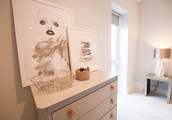 Tresona Croyde Holiday Cottage Master Bedroom Storage