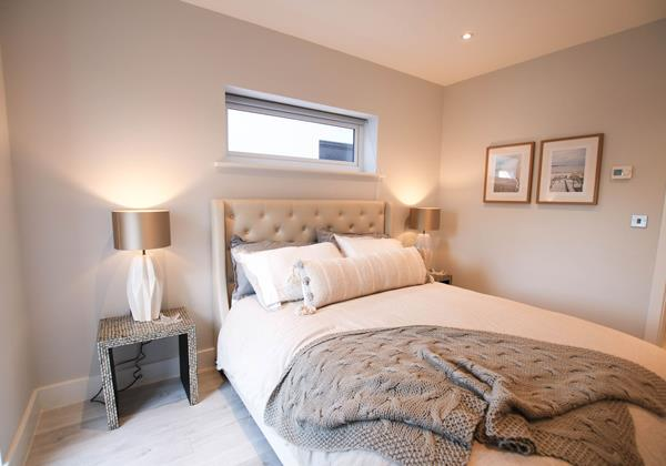 Tresona Croyde Holiday Cottage Master Bedroom