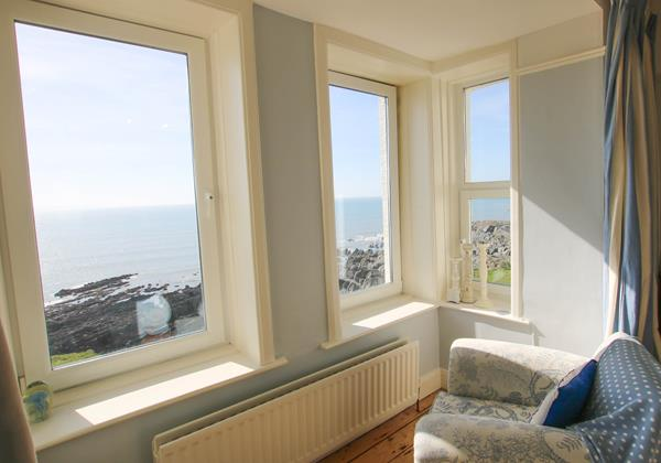 The White House Croyde Holiday Cottage Bedroom View