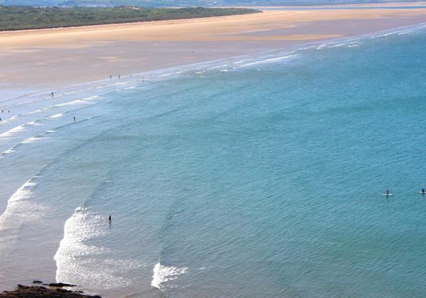 Incredible Saunton Beach Website Template