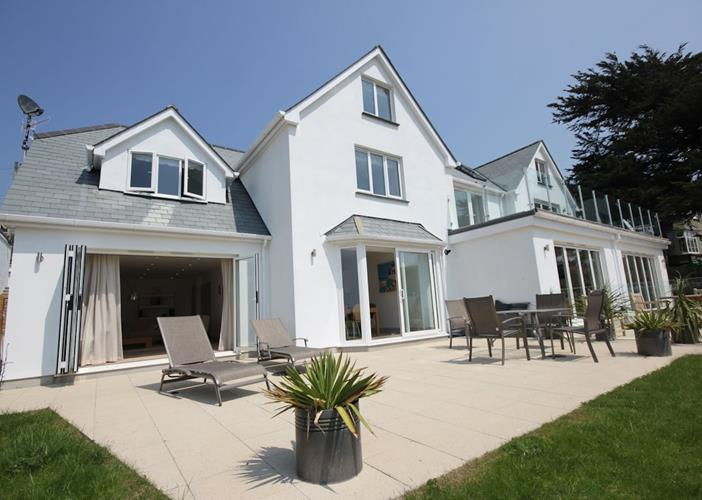 Long Beach Woolacombe Holiday Cottages Rear View