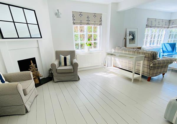 Bay Cottage Croyde Holiday Cottages Living Room